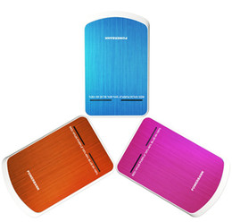 High-end power bank 12000mah free shipping exports, double usb, LED lights, universal spare 18560 storage battery