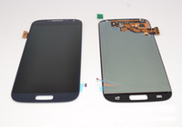 Wholesale Galaxy S Replacement Lcd - Front LCD Display with Digitizer Touch Screen Assembly Replacement Part for Samsung Galaxy S IV S4 i9500 free shipping