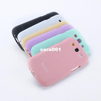 Wholesale Free Galaxy S3 Cases - Sweet Color Soft TPU Rubber Skin Case Cover For Samsung Galaxy S3 III i9300 Drop & Free shipping