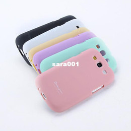 Wholesale Galaxy S3 Rubber Skin - Sweet Color Soft TPU Rubber Skin Case Cover For Samsung Galaxy S3 III i9300 Drop & Free shipping