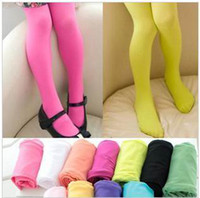 Wholesale Girls Tights Size 3t - Girl Socks Velvet Thin Pantyhose For Girl Baby Tights Pants Individually Package 2 Size