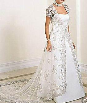 Long Sleeve Lace Coat Wraps Jackets Brides Wedding Coats With Train