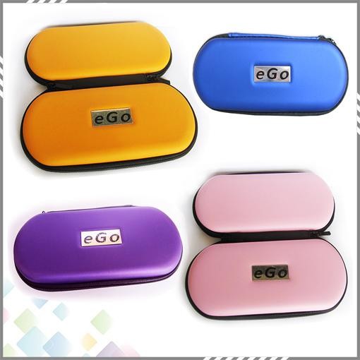 Wholesale Ego Case Ego Leather Bag for Ego-t Ego-w Electronic Cigarette Carry Bag with Zipper L M S Size DHL Free