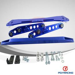 Wholesale Rear Bar Subframe Honda Civic - FOR 92-95 Honda Civic 93-97del Sol Rear Lower Control Arm+Tie Bar+Subframe Bar