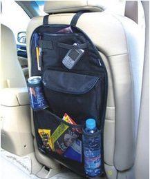 Argentina Car Stowing multi Pocket Storage Organizer Arrangement Bag del asiento trasero de la silla - envío gratis cheap chair pockets Suministro