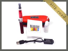 Canada Ego CE4 + CE4S atomiseur kits de cigarettes électroniques étui à glissière 650mah 900mah 1100mah batterie 1 ce4 + atomiseur batterie diverses couleurs DHL gratuitement Offre