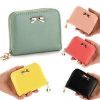 Wholesale Korea Tote - S5Q Women's Korea Style Multicolor PU Leather Phone Hand Bags Totes Purse Gift AAADCC