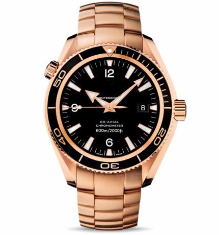 Luxury Designer Men's Automatic Mechanical Watches Swiss Brand Rose Gold 18K Sea Planet Ocean Co-Axial Date Fashion Mens Sports Wrist watch