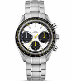 Mens swiss chronograph luxury watches online shopping - Luxury Bracelet Mens Full Stainless Steel Watch Swiss Top Brand Professional Stopwatch New Fashion Men Sport Quartz Chronograph Wristwatches
