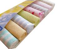 "Wholesale Cotton Polyester Wash Cloths - F04637 8pcs lot Mix Color Soft Baby Wash Cloth Infant Bath Feeding Towel 9""x9"" Handkerchief + Free shipping"