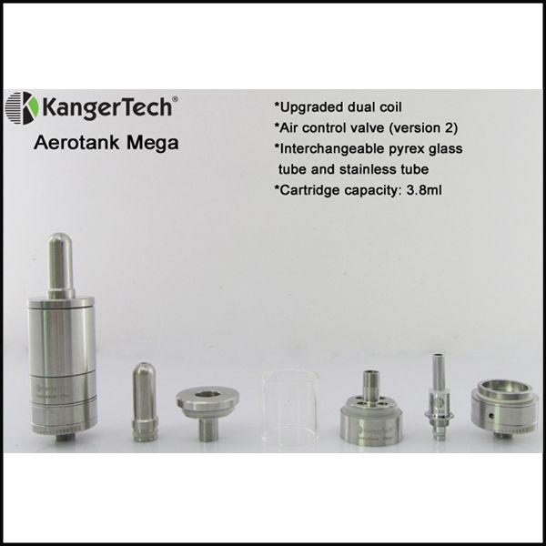 Kanger potenziato doppio avvolgimento Kanger Aerotank Mega Aerotank Mini Aerotank Protank 3 Mini EVOD 2 T3D atomizzatore Protank 3 doppio avvolgimento DHL free