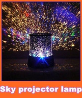 Wholesale Novelties Night Light - Free shipping New Novelty Item New Amazing LED Star Master Light Star Projector Led Night Light X2