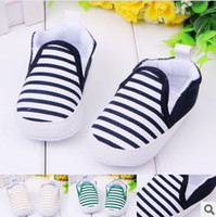 Wholesale Shop Wholesale Spring - Navy striped shoes!cheap shoes.Baby toddler shoes! drop shipping.shoes sale.china shoes ,shoes shop.6pairs 12pcs.ZH