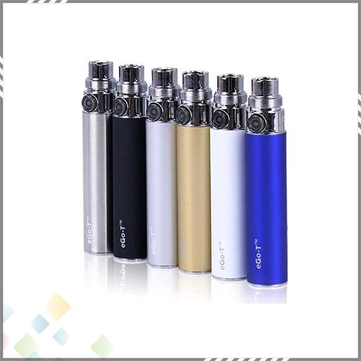 Big Promotion EGO T Battery 650mAh 900mAh 1100mAh EGo-T Battery 510 Thread Clearomizer Atomizer Free DHL
