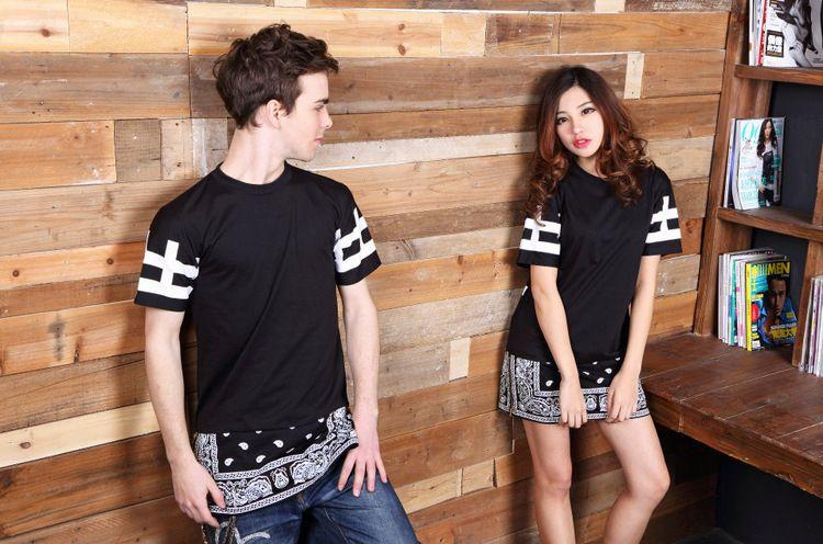 Unisex t shirts hip hop tee new cease desist paisley bandana print short description altavistaventures Choice Image