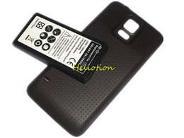 Cell Phone Batteries For Samsung Canada - G900 Battery For Samsung Galaxy S5 I9600 6500mAh Extended Battery with Back Cover Case EB-BG900BBC Replacement Cell Phone Batteries