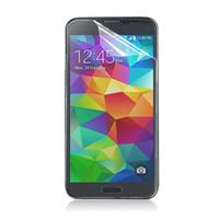 iphone s4 schirm großhandel-Für iPhone 4 5 6 für Samsung Galaxy S4 S5 Hinweis 2 3 Lcd-bildschirm Klar Schutzfolie Schutz Fall Mit Kleinpaket