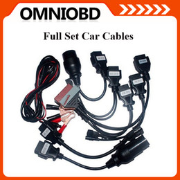 Wholesale Multi Cardiag M8 - 2016 Newest Cdp full set 8 car cables cdp+ car cables Car Cables for Multi-cardiag M8 CDP Plus 3 in 1 Free Shipping