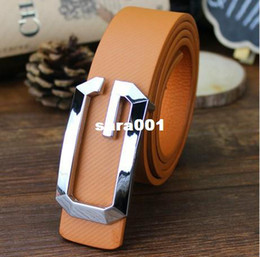 Wholesale Men Korea Fashion Free Shipping - 2014 new fashion Korea Men's Faux Leather Top-quality 4 colors strap man Ceinture Buckle Belt Free shipping
