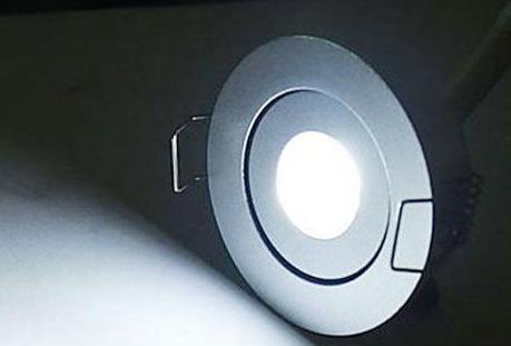 MOQ20 1W CABNET LED takluckor Lampa 1 Watt Incessed Down Lights Lampor CE Rosh Warm White Cool White Lamp 2 Yars Garanty-Express