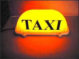luz led de taxi Rebajas Envío gratis --- 12V Line length135cm Taxi amarillo top light ~ TAXI lights Box ~~ lámpara de techo de taxi 100% nuevo