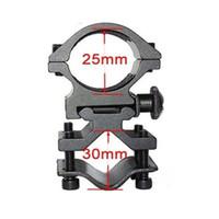 o anel 25mm venda por atacado-O espaço do anel de 25mm monta o trilho de 20mm para o suporte da tocha do laser da lanterna elétrica