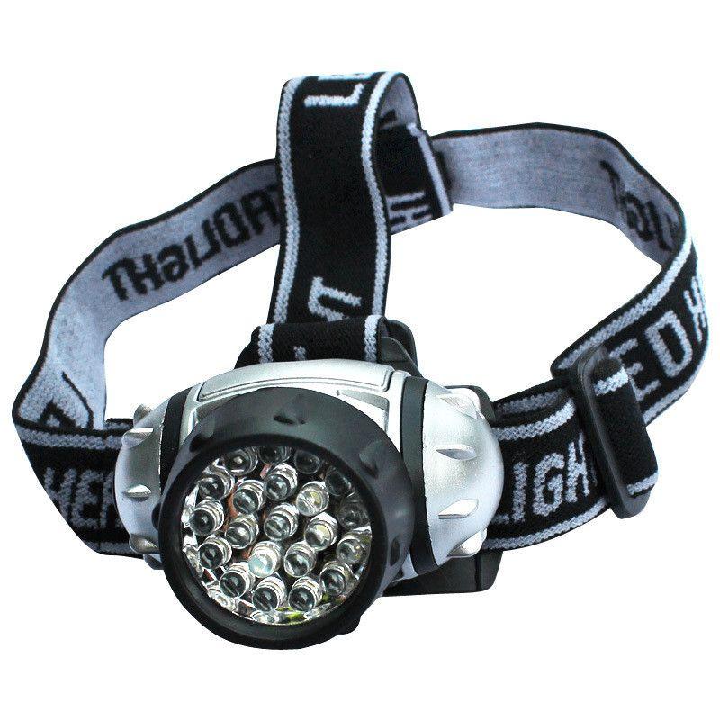 Le meilleur éclairage portatif imperméable à l'eau 21 feux de phare à LED lumière extérieure phares de randonnée LED phare de camping lumières de pêche phares lampe de poche