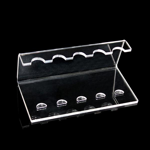 Acrylic e cig display frame electronic cigarette shelf exhibit clear standing show shelf holder rack for ego t ego twist evod battery ecig