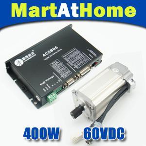 ЧПУ Leadshine бесщеточный сервопривод комплект привода (сервопривод Acs806 + 400W AC сервомотор) #SM413 @SD