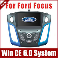 "Wholesale Bluetooth Car Audio Ford - 8"" Car DVD Player for Ford Focus 2012 2013 with GPS Navigation Radio Bluetooth Map USB SD AUX Auto Audio Video Stereo Navigator"