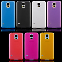 Wholesale S2 Case Transparent Back - 0.3mm Ultra Thin Candy Color Slim Matte Transparent PC Back Cover Case for iPhone 5C 5S 4 4S Samsung Galaxy S2 S3 S4 S5 mini S7262 Note 2 3