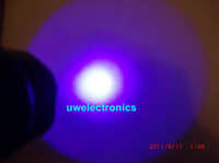 Uwe UltraFire WF- 502B 3W UV Aluminum LED Flashlight torch la...