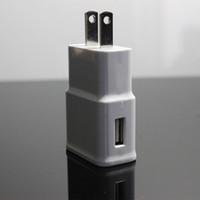 cargador moq al por mayor-2A 2000mA EE. UU. Enchufe de la UE USB HOME WALL CHARGER mini USB adaptador de viaje para GALAXY S3 s4 S5 I9600 I9500 N9000 nota 2 nota 3 moq 1000pcs