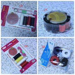 Wholesale Sewing Box Kits - Hot ! 5 Pcs Sewing Supplies Sewing Box Sewing Kit thimble Needle Devices ( z127)