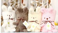 quilt tiere großhandel-Baby Tier Decke Cartoon Form Baby Decke Quilt für Säugling Badetücher Bademantel Handtuch