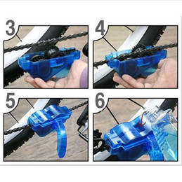 Wholesale Bicycle Chain Machine - Cycling Bicycle Bike 3D Chain Cleaner Machine Brushes Scrubber Quick Clean Tool hot sale free shipping
