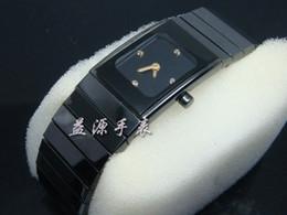 женские черные модные часы Скидка Известный бренд швейцарский роскошные женские часы дамы женская мода площадь Черный Керамический Qaurtz часы дата женская платье наручные часы Спорт для девочек