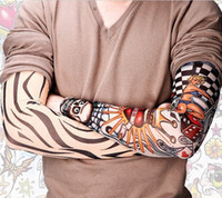 Wholesale Sun Sleeve Tattoo Designs - protection sun tatoo Sleeves radiation protection tattoo sleeves arm tattoo designs personal tattoo sleeve Free Shipping