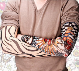Wholesale Tattoo Sun Sleeves - protection sun tatoo Sleeves radiation protection tattoo sleeves arm tattoo designs personal tattoo sleeve Free Shipping