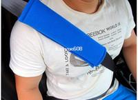 ingrosso cuscino di cintura di sicurezza della cintura-Spedizione gratuita 1 paia / lotto Confortevole spallina auto veicolo cintura cintura imbracatura Cushion Cuscino