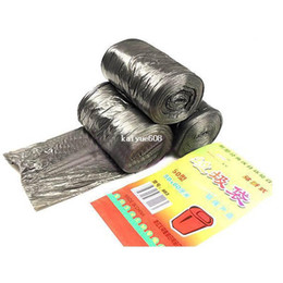 Wholesale Garbage Clean - 1Bag 50pcs Free Shipping Home Office Cleaning Refuse Liners Garbage Bin Rubbish Trash Bags Black