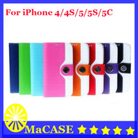 Wholesale Galaxy S3 Hot Cases - Hot Sell For iphone 4 4S   5 5S   5C   6   6 plus Samsung galaxy S3 S4 S5 Note 3 Fashion Wallet Leather Case Cover With Credit Card Holder