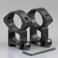 Wholesale 2pcs mm High Profile See Through Scope Rings mm Picatinny Weaver Rail Mount