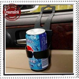 Wholesale Car Water Bottle Holder - Portable Practical Scalable Car Water Bottle Holder Cage Car Drink Beverage Cup Rack Mount Traveling Outdoor Beer Juice Holder