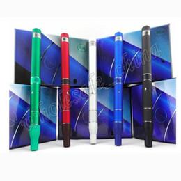 Wholesale E Cigar Starter Kit - Top selling AGO G5 Herb Vaporizer starter kit New Trend Pen Style E Cigar kit Pen Style Dry Herb Cartomizer AGO G5 with battery Charger