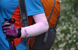 Toptan satış Soğutma Kol Kollu Kapak UV Güneş Koruma Koruyucu spor Stretch