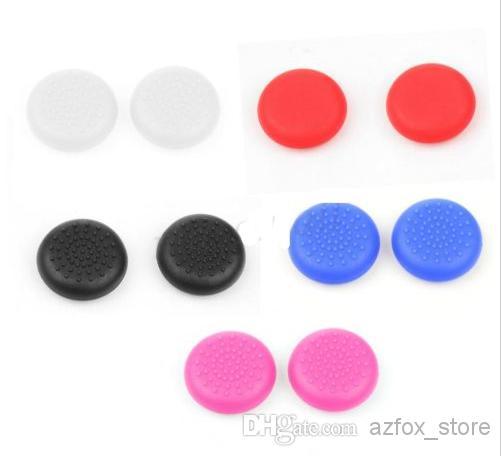 Analoga pinne täcker för PS4 TPU 3D Färgglada Caps PS4 Controller /