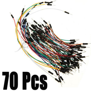 Free Shipping 70pcs Solderless Breadboard Jumper Cables For Arduino Jump Code Wire Kit Set,dandys