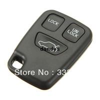 volvo araba anahtarı kabuğu toptan satış-Araba 3 Düğme Uzaktan Anahtar FOB VOLVO Durumda Kabuk Kapak Değiştirin S70 V70 C70 S40 V40 Ücretsiz Kargo, dandys