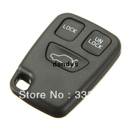 Wholesale Volvo Key Remote Fob - car 3 Button Remote Key FOB Replace Case Shell Cover For VOO S70 V70 C70 S40 V40 Free Shipping,dandys